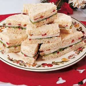 Festive Tea Sandwiches Recipe
