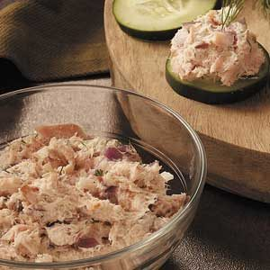 Smoked Trout Cucumber Canapes Recipe