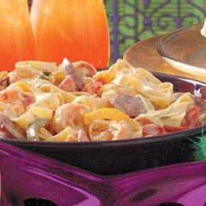 Creole Pasta with Sausage and Shrimp Recipe