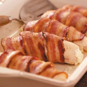 Bacon Chicken Roll-Ups Recipe