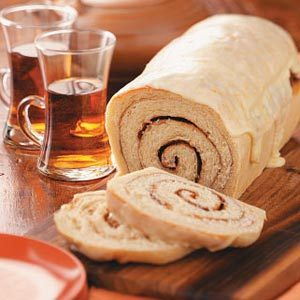 Cinnamon Swirl Orange Bread Recipe