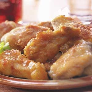 Honey-Orange Chicken Wings Recipe