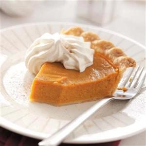 Cinnamon Pumpkin Pie Recipe
