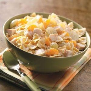 Fruited Chicken Pasta Salad Recipe