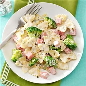 Ham & Broccoli Pasta Recipe