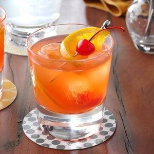 Brandy Old-Fashioned Sweet Recipe