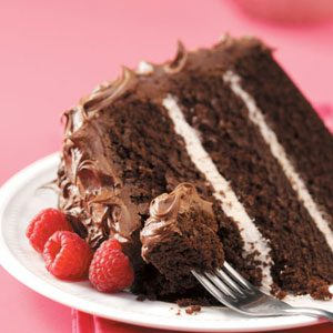 Raspberry Chocolate Cake Recipe