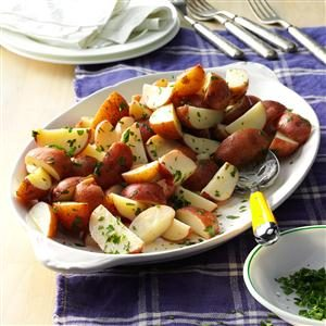 Simple Lemon Parsley Potatoes Recipe
