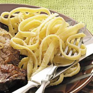 Parmesan Fettuccine Recipe
