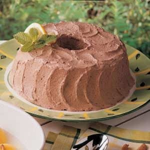 Fluffy Chocolate Mousse Frosting Recipe