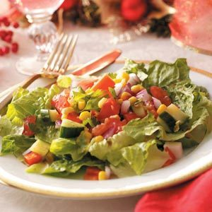 Colorful Gazpacho Salad Recipe