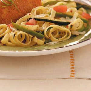 Garden-Fresh Fettuccine Recipe