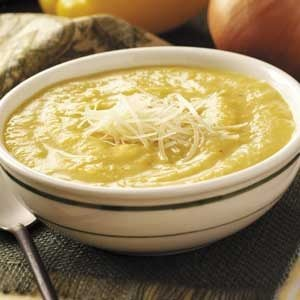 Roasted Yellow Pepper Soup