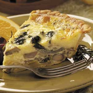 Garden Vegetable Quiche Recipe