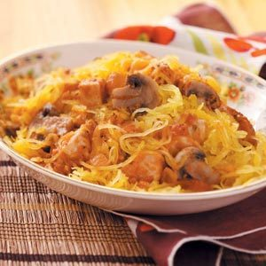Chicken & Spaghetti Squash Recipe