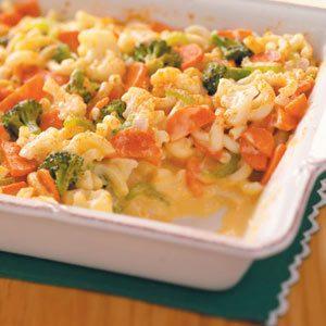 Veggie Macaroni & Cheese Recipe