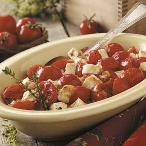 Cherry Tomato Mozzarella Saute Recipe