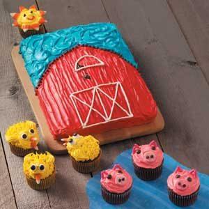 Barnyard Cupcakes Recipe