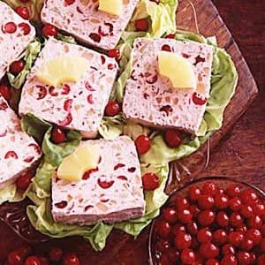 Frozen Cranberry Salad Recipe