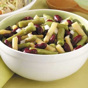 Three-Bean Salad for 3 Recipe