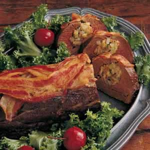 Stuffed Beef Tenderloin Recipe