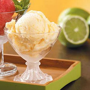 Lighter Peach Ice Cream Recipe