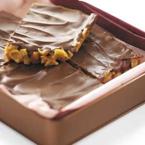 Crunchy Peanut Bars Recipe