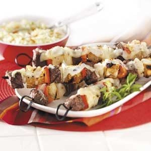 Steak Sandwich Kabobs Recipe