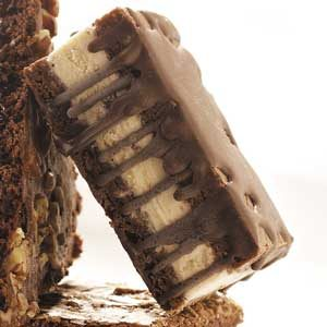 Candy Bar Ice Cream Sandwiches Recipe