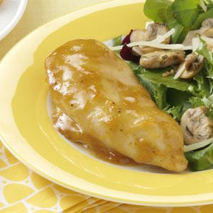 Honey-Mustard Apricot Chicken Recipe photo by Taste of Home