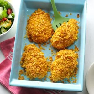 Crumb-Coated Ranch Chicken Recipe