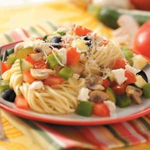 Mediterranean Vegetable Pasta Recipe