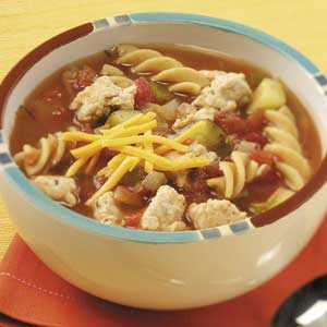 Zesty Turkey Tomato Soup Recipe