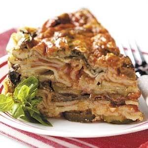 Slow Cooker Veggie Lasagna Recipe