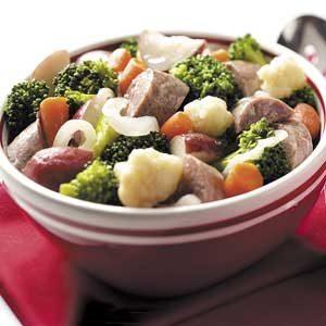 Bratwurst Dinner Recipe