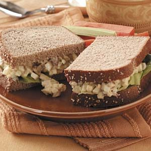 Bacon and Egg Salad Sandwich Recipe