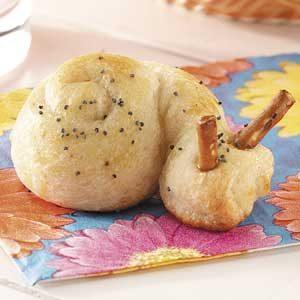 Little Snail Rolls Recipe