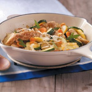 Chicken Vegetable Skillet Recipe