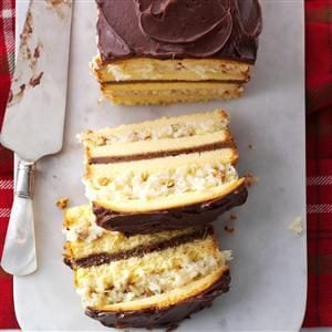 Coconut-Layered Pound Cake
