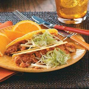 Barbecue Chicken Tacos Recipe