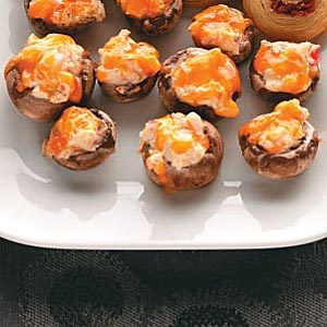 Stuffed Party Mushrooms Recipe
