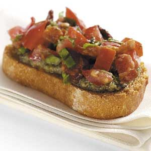 BLT Bruschetta Recipe