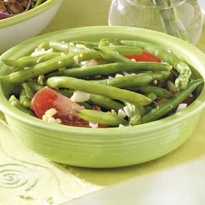 Summery Fresh Green Bean Salad Recipe
