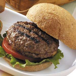 Cheese-Stuffed Burgers for Two