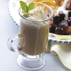 Homemade Cinnamon Mocha Coffee Recipe