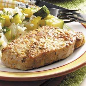 Herbed Beer Pork Chops Recipe