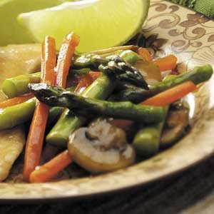 Asparagus stir fry recipe taste of home asparagus stir fry recipe ccuart Gallery