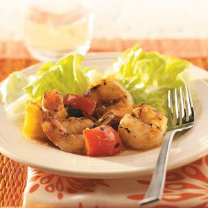 Apricot-Pineapple Glazed Shrimp Recipe