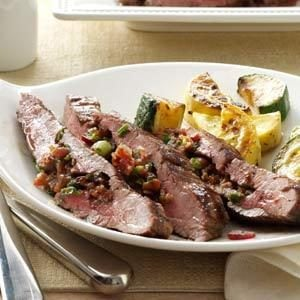 Loaded Flank Steak Recipe