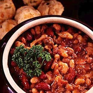 Old Settlers' Baked Beans Recipe
